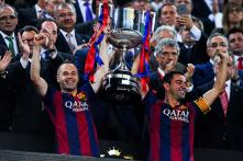 Barcelona's Xavi aims for perfect send off with Champions League win
