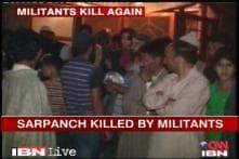 J&K: Another sarpanch attacked, Omar calls security meet