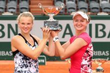 French Open: Krejcikova, Siniakova Claim Maiden Grand Slam Doubles Title