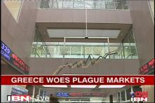 Greece, Euro zone a worry for world markets