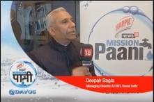 Deepak Bagla, MD & CEO, Invest India - Mission Paani At Davos 2020!