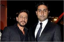 Shah Rukh Khan Has a Hilarious Comeback to Abhishek Bachchan's Monday Motivation Post