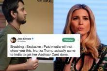 UIDAI Responds To Viral Meme, Says Ivanka Isn't Eligible For Aadhaar