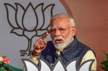 PICS: PM Modi Addresses Mega Rally in Karkardooma