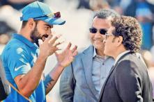 Kohli Shares a 'Special Picture' With Sehwag and Tendulkar