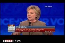 Hillary Clinton calls her republican counterpart Donald Trump ISIS's best recruiter