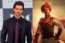 Hrithik Roshan is All Praise for Tanhaji, Ajay Devgn Responds with Sweet Post