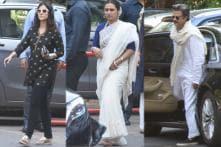 Ram Mukherjee's Memorial Ceremony: Stars Pay Respects