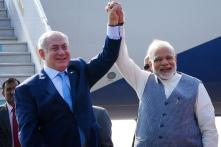 Modi Breaks Protocol to Greet Netanyahu on Historic Visit, Israeli PM Says India a Global Power