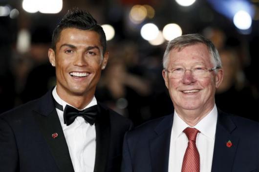 Cristiano Ronaldo and Sir Alex Ferguson (Photo Credit: Reuters)