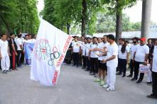 Abhinav Bindra, Kiren Rijiju Lead India in Olympic Day Celebrations