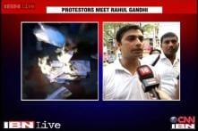 Language bias: UPSC aspirants meet Rahul Gandhi, seek his support