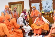 National Youth Day: PM Narendra Modi Pays Tribute to Swami Vivekananda at Belur Math