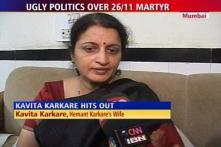 Digvijaya's claims are painful: Karkare's wife