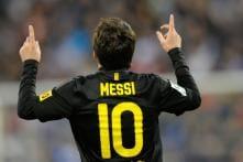 Messi first since Mueller to net 60 goals