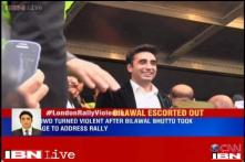 Crowds boo, heckle Bilawal Bhutto at PPP's rally in London on Kashmir