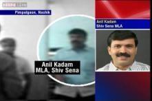 Watch: Shiv Sena MLA vandalise toll booth in Nashik