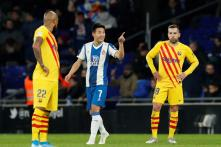 La Liga: FC Barcelona Concede Late to be Held 2-2 at Last-place Espanyol in Catalan Derby