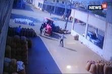 Speeding Tractor's Trolley Flips In Gujarat