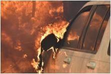 Car Bursts into Flames When Man Lights Cigarette After Spraying 'Excessive' Air Freshner