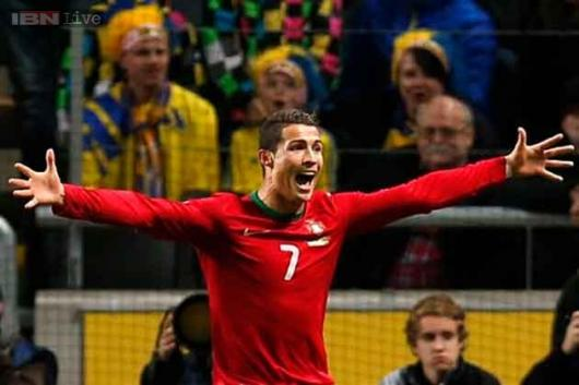 Ronaldo's hat-trick sends Portugal to World Cup
