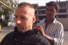 Norwegian YouTuber Pays Rs 28,000 For a Rs 20 Haircut in Ahmedabad