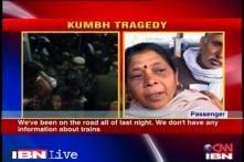 Allahabad station stampede: People struggle to get information