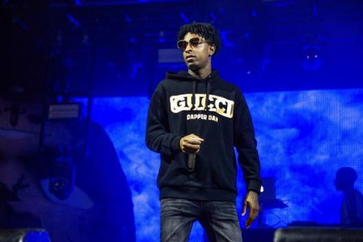 File photo of rapper 21 Savage (AP)