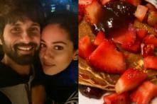 Shahid Kapoor Makes Pancakes for Wife Mira Rajput