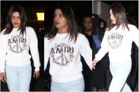Priyanka Chopra Stuns in a Casual Yet Stylish Airport Look as She Arrives in India, See Pics