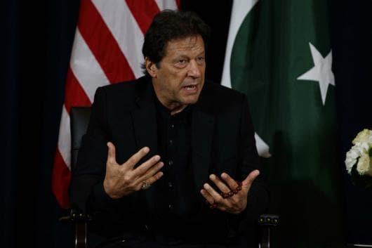 File photo of Pakistan Prime Minister Imran Khan