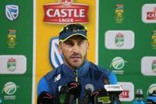 South Africa Skipper Faf du Plessis Looks for Fresh Start