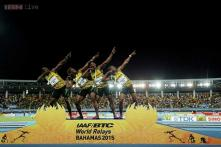 Jamaica beat USA in IAAF World Relays without Usain Bolt