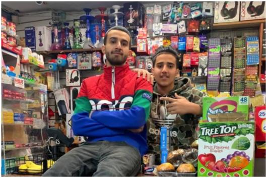 20-yeart-old Ahmed Alwan runs the Lucky Candy convenience store in Bronx, NYC | Image credit: Instagram