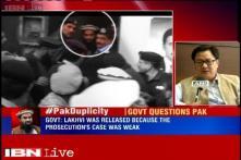 Prosecution in Pakistan not using evidence to strengthen case against Lakhvi: MHA