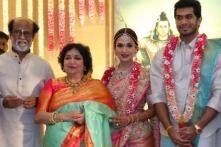 Rajnikanth's Daughter Soundarya Marries Vishagan in a Grand Ceremony, See Pics