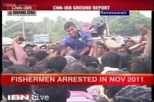 Rameswaram: 5 fishermen pardoned by Sri Lanka return home, get heroes welcome