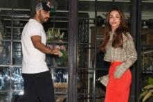 Ahead of Valentine's Day, Malaika Arora and Arjun Kapoor Step Out for a Romantic Date Night