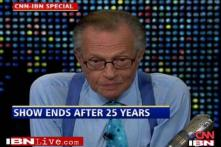 Larry King wraps up his 25 year reign at CNN