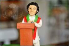 Pakistan Celebrates PTI Victory With Special Imran Khan Cake