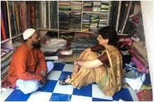 Priyanka Gandhi Vadra in Amethi Meets Shopkeepers & Traders