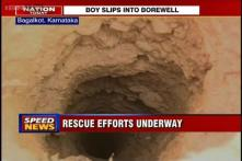 Karnataka: Efforts on to rescue 6-year-old boy trapped in borewell in Bagalkot