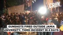 Jamia Firing: Gunshots Fired Outside Delhi's Jamia Millia Islamia, Third Firing Incident in 4 Days
