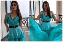 Kareena Kapoor Khan Looks Unbelievably Radiant in Turquoise Blue Gown