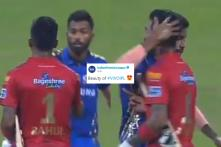 Hardik Pandya Hugs KL Rahul After Getting Smashed All Over the Park By Him
