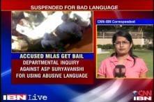 Maharashtra: Policeman thrashed by MLAs suspended