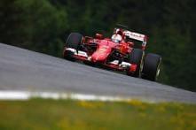 Sebastian Vettel beats Nico Rosberg in 2nd practice at Austrian GP