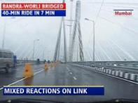 Watch: Commuters divided over Bandra Worli sea link utility