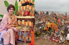 Sonali Bendre Expresses Concern About Environment With Juhu Beach Pic After Ganesh Visarjan