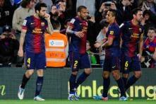 Barcelona register hard-fought win over Levante